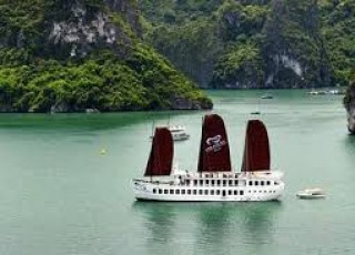 TREASURE JUNK HALONG BAY 2 DAYS 1 NIGHT & 3 DAYS 2 NIGHTS FROM 137$/ PERSON ONLY