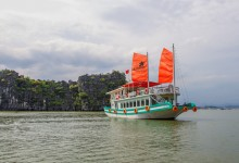 L'AZALEE HALONG BAY CRUISE 1 DAYS FROM 87 USD/PERSON ONLY