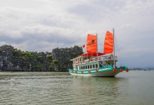 L'AZALEE HALONG BAY CRUISE 1 DAYS FROM 93 USD/PERSON ONLY