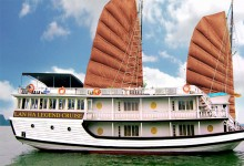 LANHA LEGEND CRUISE 2 DAYS 1 NIGHT AND 3 DAYS 2 NIGHTS