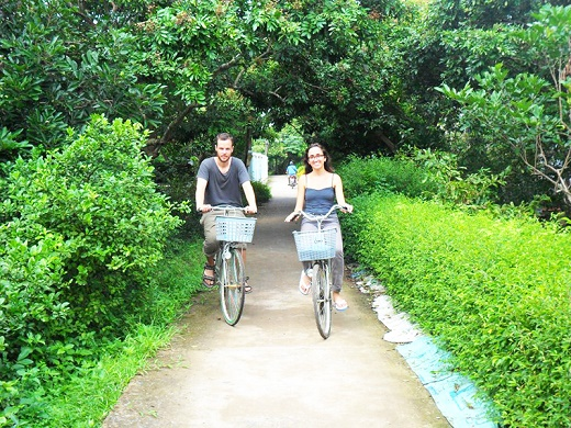 CYCLING IN TANPHONG ISLAND from 34 USD/PERSON only